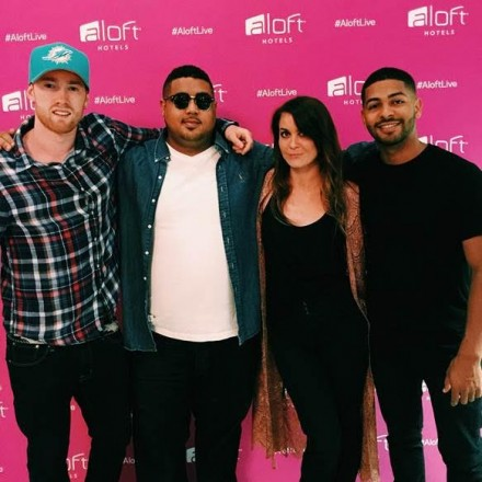Project: Aloft Star kicked off at Aloft South Beach on August 27th with a performance by 2014 Project: Aloft Star winner, Jackie Stabb and UK sensation, Life Of Dillion
