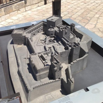 Tower of David in Jerusalem with Dr. Mark S. Goodman