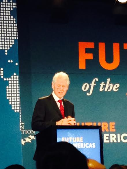 President Clinton in Miami