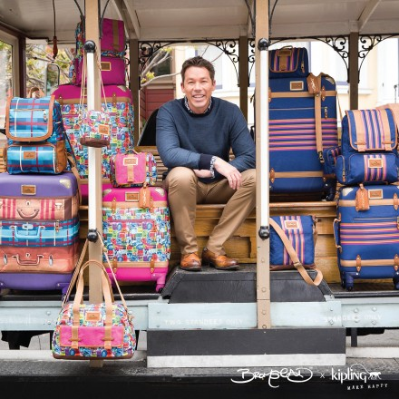 Kipling Launches David Bromstad x Kipling Collection