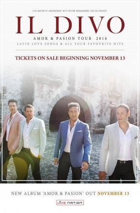 Live Nation Entertainment Il Divo Tour