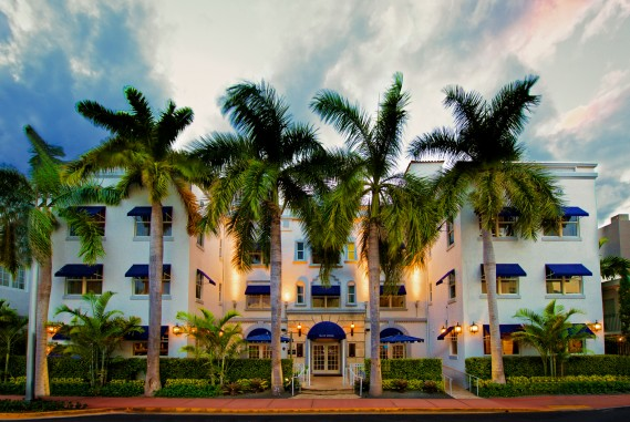 Historic Blue Moon Hotel in Miami's South Beach