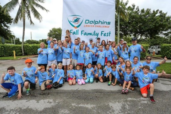 Dolphins Cancer Challenge Hosts Successful Fall Family Fests