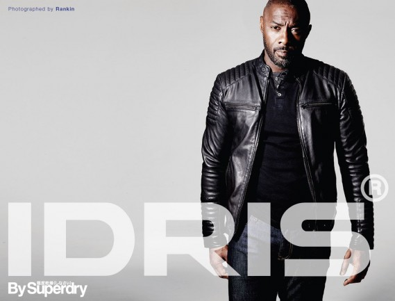 IDRIS HAS ARRIVED: THE PREMIUM MENSWEAR COLLECTION AW15 FOR SUPERDRY