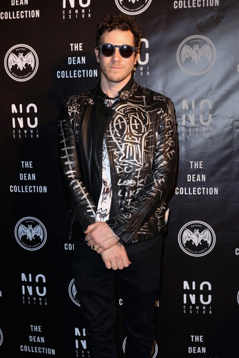 Artist Gregory Siff attends No Commission Art Fair & Untameable House Party Concert Series Presented By BACARDI X The Dean Collection - VIP Press Preview on December 2, 2015 in Miami, Florida. (Photo by John Parra/Getty Images for Bacardi)