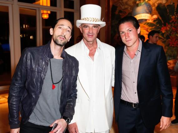 Adrien Brody, Alan Faena, Vito Schnabel FAENA HOTEL MIAMI BEACH: OPENING CEREMONY