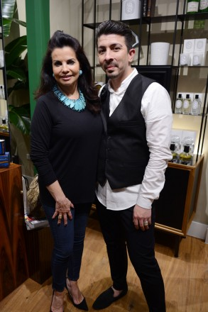 Eduardo Valadez &Tessie Barriant at diptyque boutique at Bal Harbour Shops, Miami