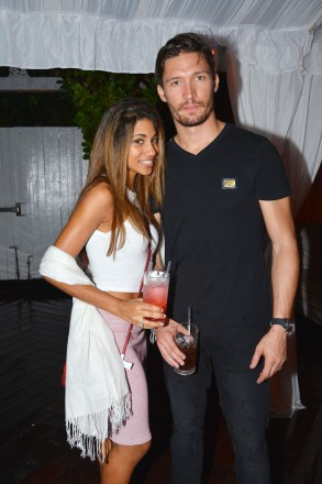 Eileen Castillo, Jesus Gonzales== Absolut Elyx and Water For People Art Basel benefit at Delano South Beach