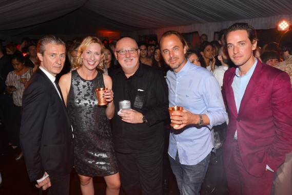 Jerome Sans, Eleanor Allen, Sean Kelly, Jonas Tahlin, Alexander Gilkes== Absolut Elyx and Water For People Art Basel benefit at Delano South Beach