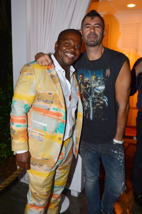 Kehinde Wiley, Jeremy Kost at Absolut Elyx and Water For People Art Basel benefit at Delano South Beach