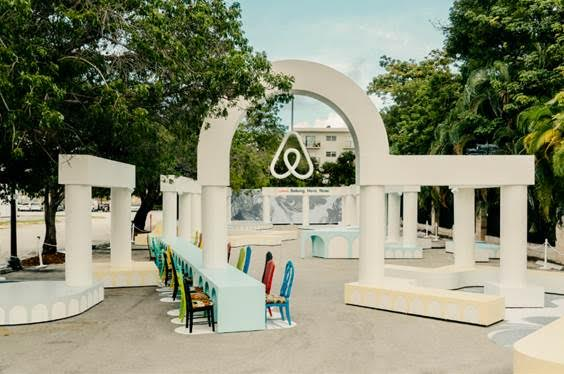 Airbnb Reveals Belong. Here. Now. An Interactive Installation at Design Miami/