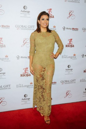 Eva Longoria wore Maria Lucia Hohan to the Global Gift Foundation Dinner