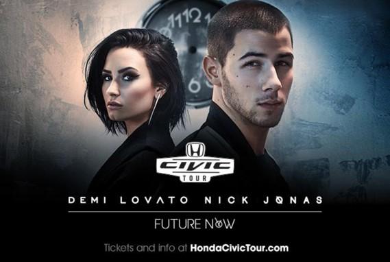 Demi Lovato and Nick Jonas to Headline 15th Anniversary Honda Civic Tour This Summer (American Honda Motor Co., Inc.)