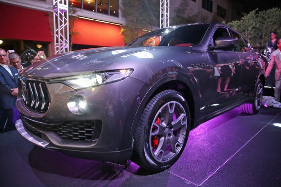 More than 500 VIP guests joined Maserati Fort Lauderdale as it presented the official unveiling of the highly-anticipated new Maserati Levante SUV in South Florida during a private outdoor reception on April 14, 2016 at downtown Las Olas hotspot, YOLO. (Maserati Fort Lauderdale)
