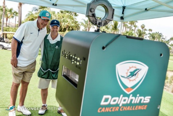 Dan Marino at DCC Golf Tourney at Turnberry