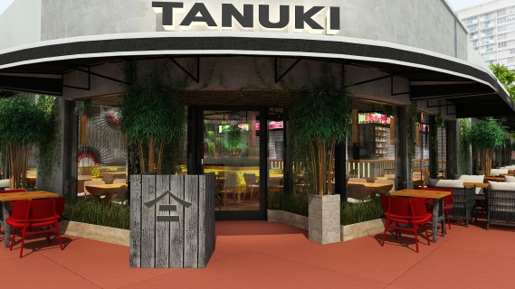 Tanuki, the international Pan-Asian concept