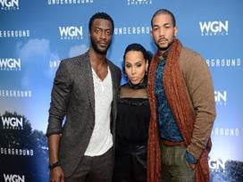 (l-r) Actors Aldis Hodge, Amirah Vann, Alano Miller at National Civil Rights Museum. Photo Credit: Gregory Campbell
