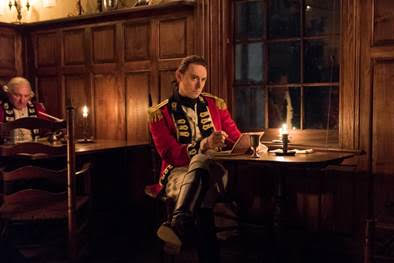 "JJ Feild as Major John Andre on ""TURN: Washington's Spies"""