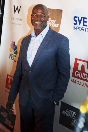 Hisham Tawfiq (The Blacklist) attends a party celebrating the new issue of TV Guide Magazine at The Living Room at The W New York - Times Square. CREDIT: MK Photography