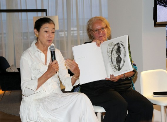 Michele Oka Doner and Beth Dunlop