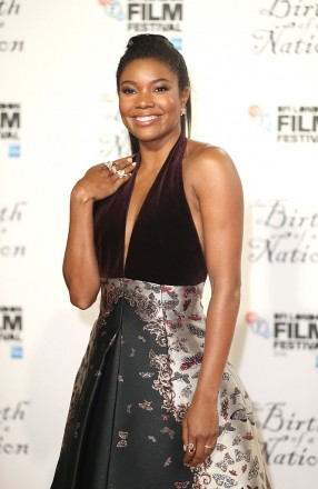 LONDON, ENGLAND - OCTOBER 11:  Gabrielle Union attends the 'The Birth Of A Nation' International Premiere screening during the 60th BFI London Film Festival at Odeon Leicester Square on October 11, 2016 in London, England.  (Photo by Mike Marsland/Mike Marsland/WireImage)