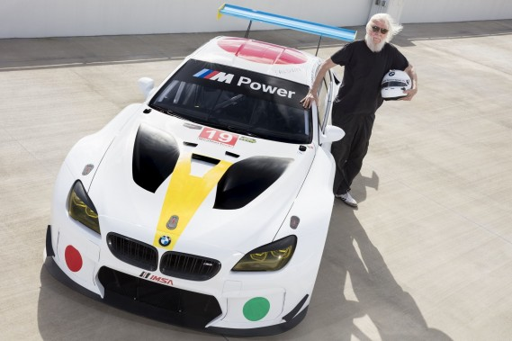 19th BMW Art Car by renowned American contemporary artist John Baldessari. The newest BMW Art Car made its world premiere at Art Basel in Miami Beach on Wednesday, November 30, 2016 (C) Photo by Chris Tedesco for BMW (BMW Group)