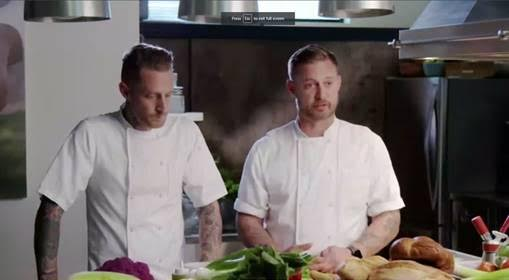 Celebrity chefs Bryan and Michael Voltaggio