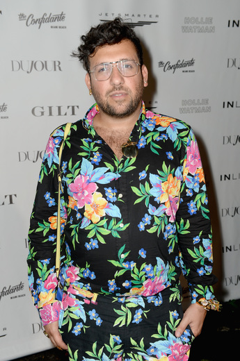 Designer Ken Borochov attends the DuJour Media, Gilt & JetSmarter party to kick off Art Basel at The Confidante on November 30, 2016 in Miami Beach, Florida. (Photo by Gustavo Caballero/Getty Images for DuJour)