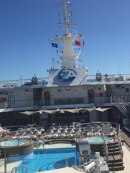 Azamara Club Cruises-Azamara Quest deck