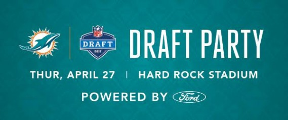 Miami Dolphins 2017 NFL Draft Party