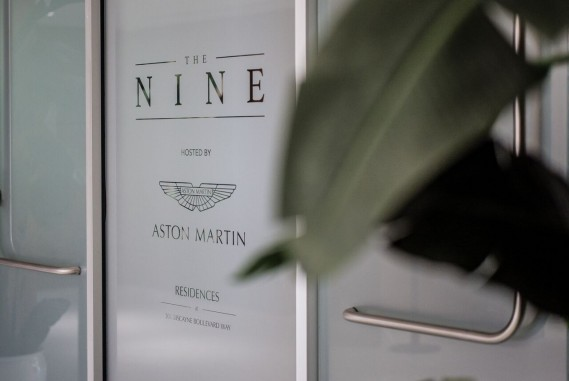 The NINE hosted by Aston Martin Residences at 300 Biscayne Boulevard Way