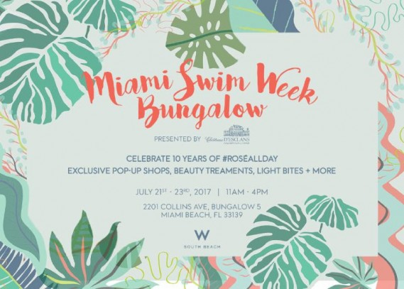 Miami Swim Week Style Bungalow at W South Beach