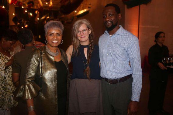 Carole Hall, Kathleen Hudspeth, & Adler Guerrier