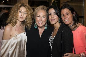 Claudia Rosenberg, Iran Issa Kahn, Cindy Alonso, and Carolina Rovira