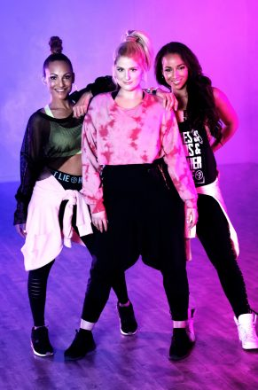 "Grammy-Award winning singer, songwriter and multi-platinum artist Meghan Trainor teams with Zumba to promote latest single ""No Excuses"" and empower women everywhere"