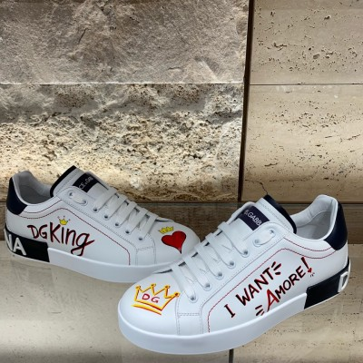 DOLCE & GABBANA PERSONALIZED SNEAKERS