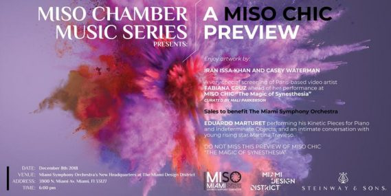 MISO CHAMBER MUSIC SERIESpresents:A MISOCHIC PREVIEW