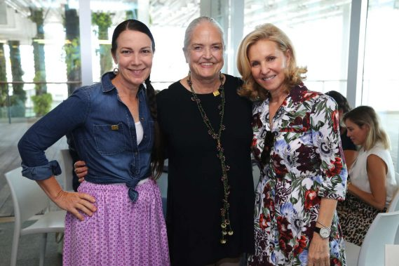 Adrienne Bon Haes, Linda Frankel, & Trudy Cejas
