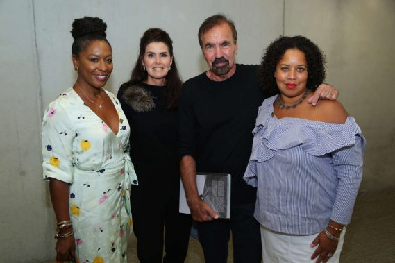 Crystal Wagar, Darlene & Jorge Pérez, & Jessica Sirmans