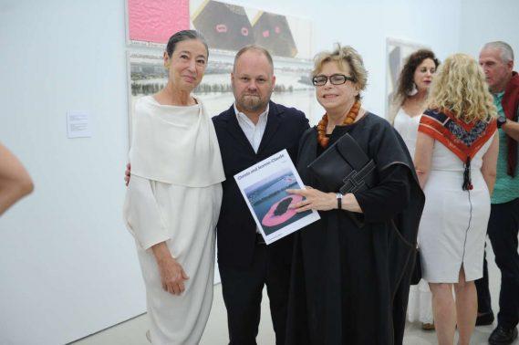 Michele Oka Doner, Tobias Ostrander, & Terri Harris