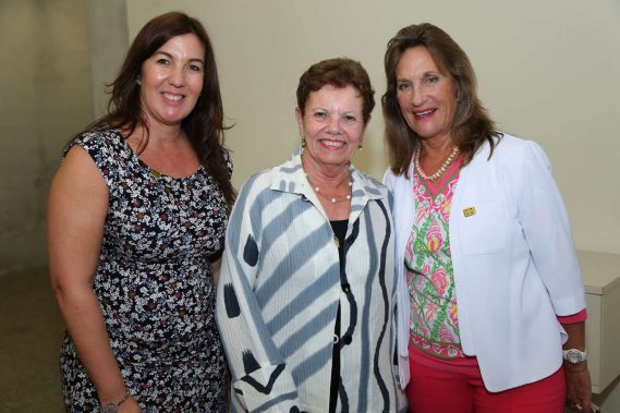 Rosa Santiago, Carol Damian, & Pamela Garrison