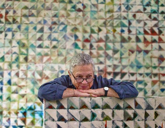 Lynne Golob Gelfman in her Miami studio Photo courtesy of Gelfman Studio