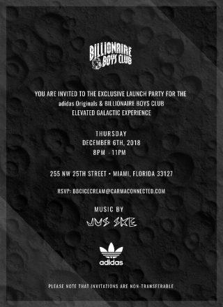adidas Originals x Billionaire Boys Club Launch Party Miami