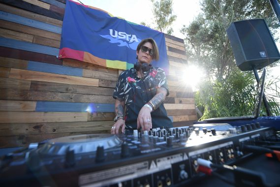 Miami Open Hosts OUT at the Open featuring DJ performance from DJ Citizen Jane