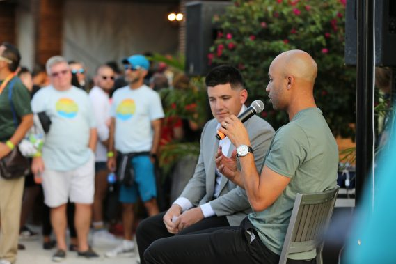 Miami Open Tournament Director James Blake Participates in OUT at the Open