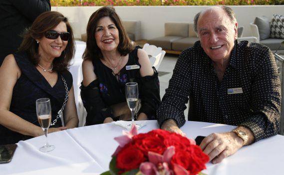 Iliana Abella, Mercy Ballina, and Emilio Palomo