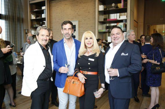 Ralph De Martino, Gary Hennes, Denise Rubin and Scott Klein