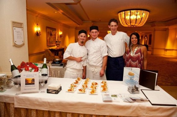The American Institute of Wine & Food's Annual Sand Bake at the Fairmont Turnberry Resort and Club in Aventura