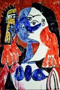 Pablo Picasso, Couple, 1963 | Galerie Hopkins-Custot | Paris