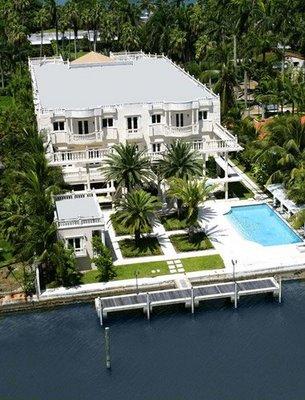 Scott Storch Mansion on Palm Island in Miami Beach, FL